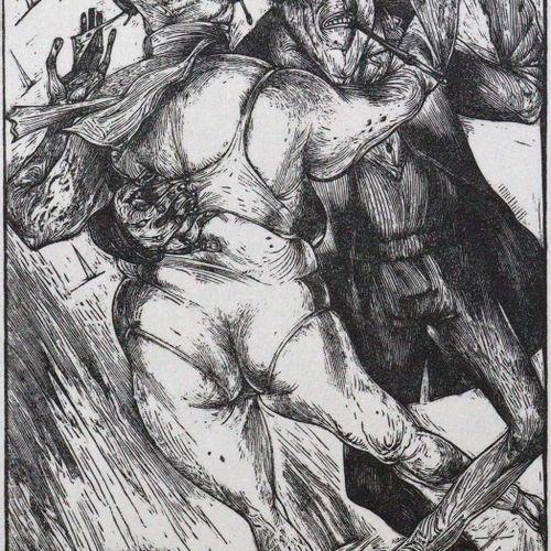 Wecker,K. 老皇帝。七首诗。Garching, Antinous Presse 1992. Cl.4°.有3幅木刻版画,作者是。Karl Georg H…