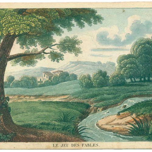 La Fontaine,J.D. Le jeu des fables, ou fables de Lafontaine mises en action... V…
