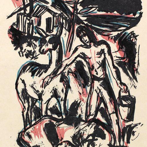 Defoe,D. 举世闻名的英国人鲁滨逊 克鲁索的生活和非常不寻常的事件。Lpz., Insel 1922. Gr.4°.附有理查德 詹图尔的31幅石刻画。并有…