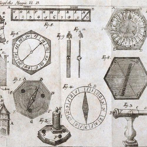 Martius,J.N. 自然魔法或各种有趣和有用的技能的课程,由G.E. Rosenthal完全修订。第5、6和12卷。Bln.和Stettin, Nicol…