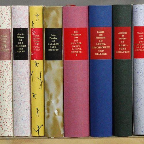 Enzensberger,H.M. (Hrsg.). 另一个图书馆。该系列的83卷(包括一些重复的)。Nördlingen, Greno resp. Ffm.,…