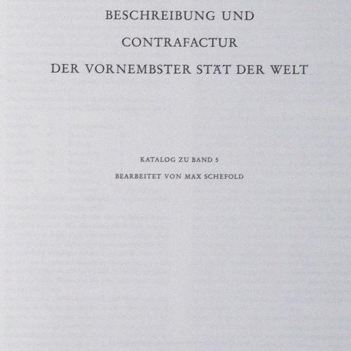 Braun,G. U. F.Hogenberg. Beschreibung und Contrafactur der vornembsten Stät der …