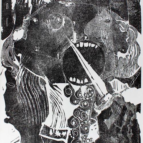 Jarry, A., Ubu Roi. Le roi Ubu. Un drame en cinq actes. Avec des gravures sur bo…