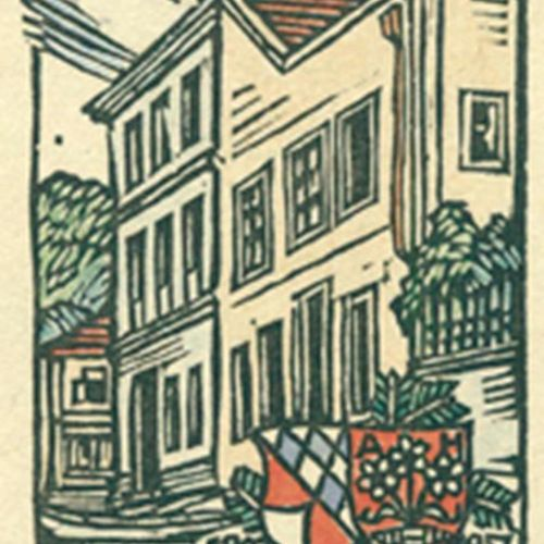 Feil, Otto. Collection d'environ 280 ex libris d'Otto Feil. Vers 1920 70. Format…