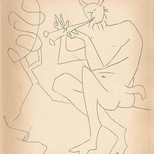 Reventos,R. Dos Contes. Paris u. Barcelona, Editions Albor 1947. Gr.4°. Avec ╔4 …