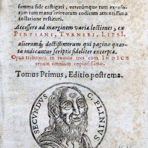 Plinius Secundus,C. Historiae Mundi libri XXXVII. A Sigismundo Gelenio summa fid…
