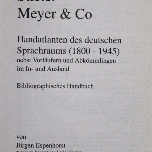 Sammlung 的23个(包括2个未合并的)书目作品,共65卷。各种各样的。格式 A. 绑定。 其中包括:╗海恩/戈登多夫,《情色与好奇》。重印哈瑙9卷。 摇…