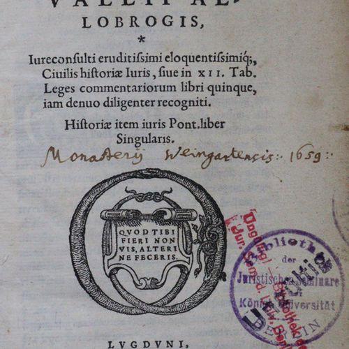Rivallius (Du Rivail),A. Civilis historiae iuris, liber singularis.里昂,Tornaesius…