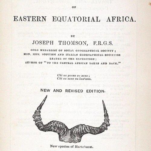 Thomson,J. À travers le pays Masai, un voyage d'exploration parmi les montagnes …