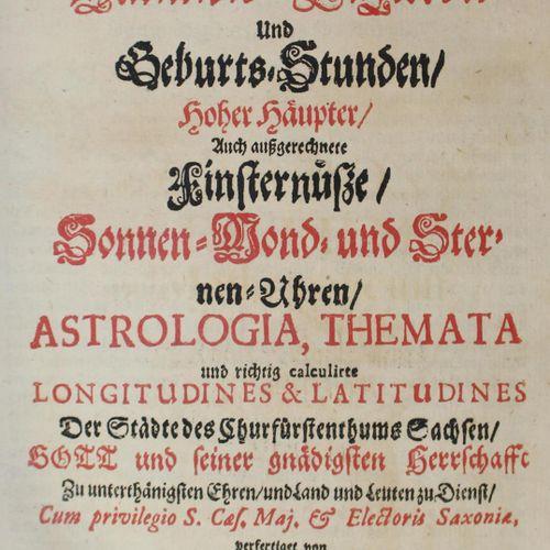 Beutel,T. Arboretum mathematicum,在那里可以找到。天体数字和出生时间,高位数,还有提取的日食,太阳、月亮和星钟,占星术,主题和正…