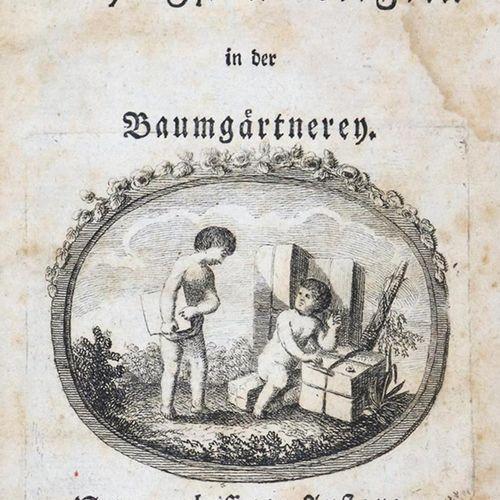 (Wilke,G.W.C.V.). 收集了树木栽培中最重要的规则。新版本。Lpz, Hilscher 1788.Lpz, Hilscher 1788. 带雕刻的…