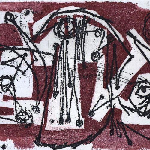 Trökes,H. Avec une préface d'Alain Bosquet. Cologne, Galerie Der Spiegel 1962. F…