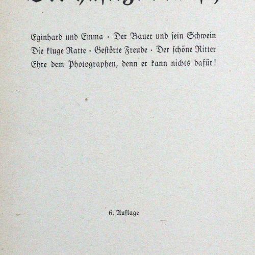 Busch,W. Schnurrdiburr ou Die Bienen. Manuldruck Ausg. Mchn., Braun u. Schneider…