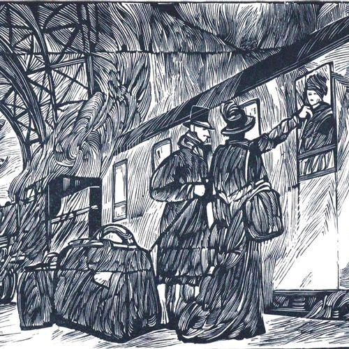 Mann,T. La garde robe. (Garching 1991). Gr.4°. Avec des gravures sur bois de A. …
