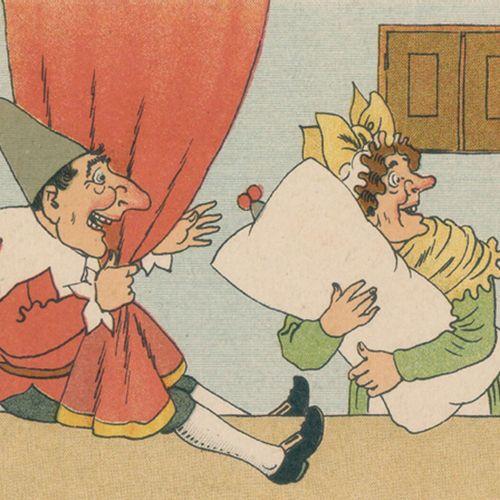 Meggendorfer,L. Nouveau spectacle de Guignol et de Judy. 2ème édition. Esslingen…