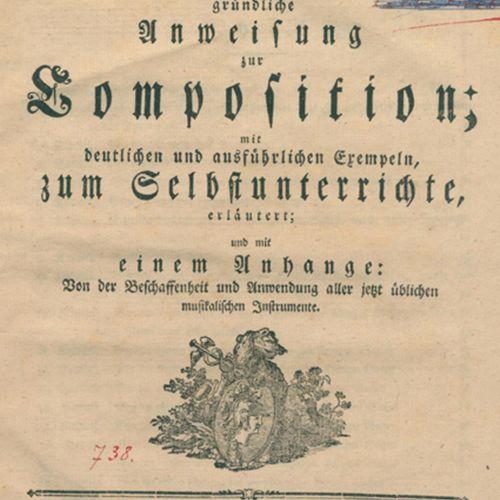 Albrechtsberger,J.G. 关于作曲的全面指导,用清晰和详细的例子解释,供自我学习;并有一个附录:关于现在使用的所有乐器的性质和用途。Lpz, B…