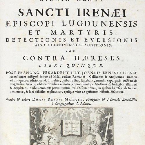 Irenaeus. Tu En Hagiois Patros Hemon Eirenaiu Episkopu Lugdunu, Kai Martyros, El…