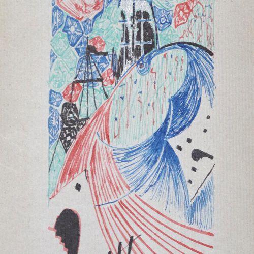 Dietrich. Collection de deux manuscrits de poésie artistiquement conçus avec une…