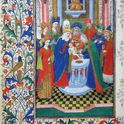 Stundenbuch der Isabel la Catolica, Das. 来自马德里皇家图书馆的手稿传真。马德里,Testimonio 1991年。21…