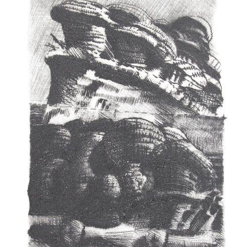 Huthmacher,D. 战争之歌》。(Bad Teinach, Doppelfant Presse 1980)。有9幅由Dieter Huthmacher签…