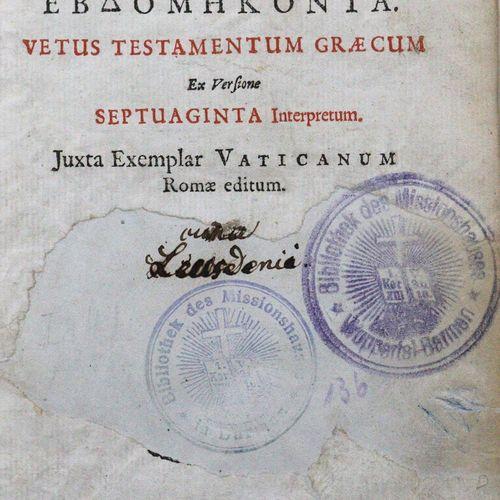 Biblia germanica. 圣经》,也就是:整个《圣经》。旧约和新约的经文,...第3版。Halle, Waisenhaus 1771. 4°.1079…