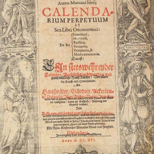 Coler,J. (Calendarium perpetuum et sex libri Oeconomici de Re Familiari, Hortens…