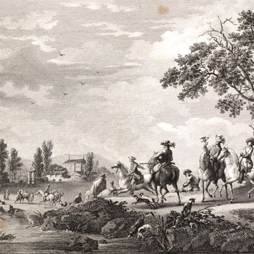 Filhol,(A.M.) u. J.Lavallee. 拿破仑博物馆的画廊。10卷。巴黎,Filhol 1807 15. 8°。附有雕刻的画像a。718块铜板…