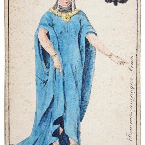 (Karten Almanach pour l'année 1809. Image unique (carte de transformation). Tübi…