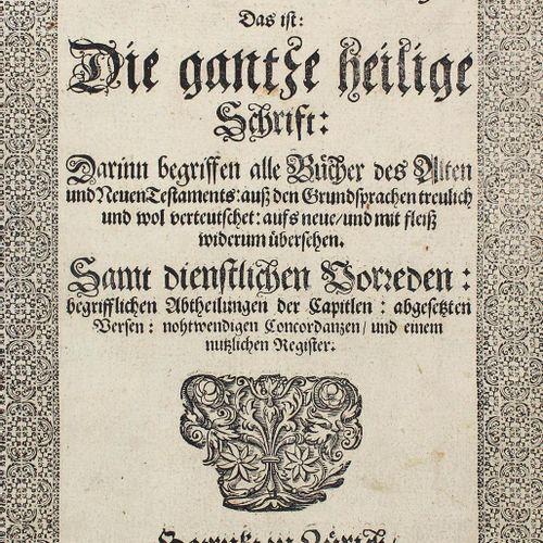 Biblia germanica. Biblia, c'est à dire : l'ensemble des écritures saintes : Il c…