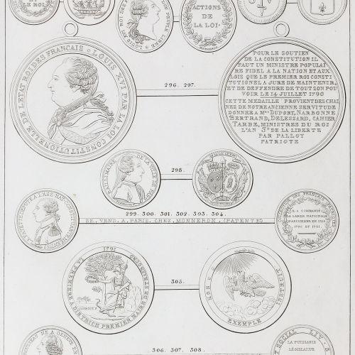 (Hennin,M.). Histoire numismatique de la Révolution Française, ou : Description …
