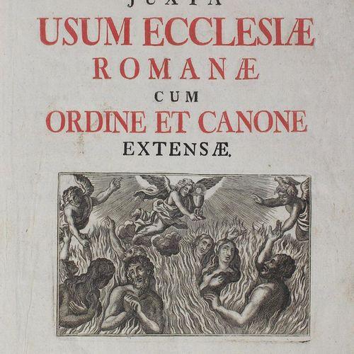 Missae defunctorum juxta usum ecclesiae Romanae cum ordine et canone extensae.奥格…