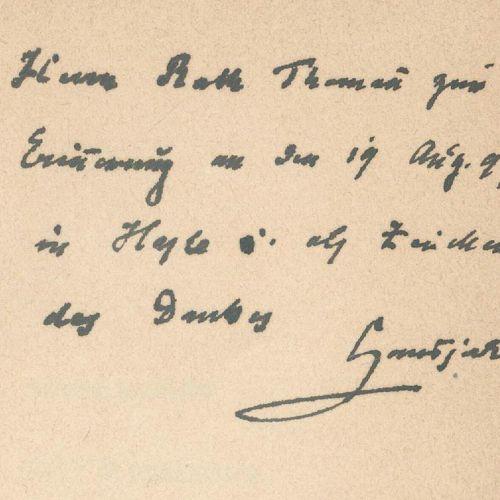 Hansjakob,H. 收集了42篇著作,主要是Stgt.,Bonz和Hdbg.分别,Weiß约1890 1920.Versch.装订。 包括╔2 奉献前╗:…