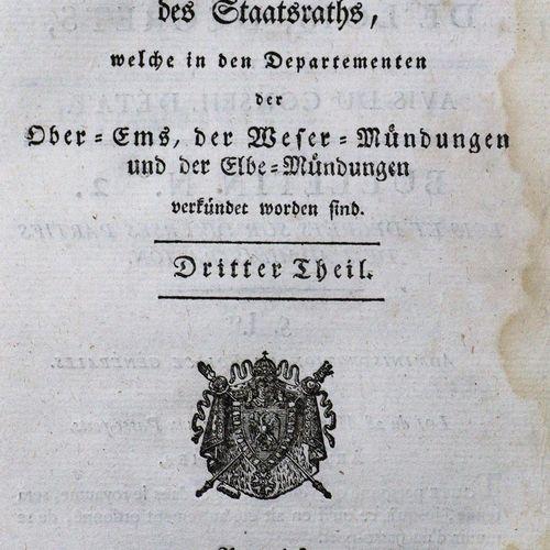 Sammlung von Gesetzen, Decreten, und Gutachten des Staatsraths, welche in den De…