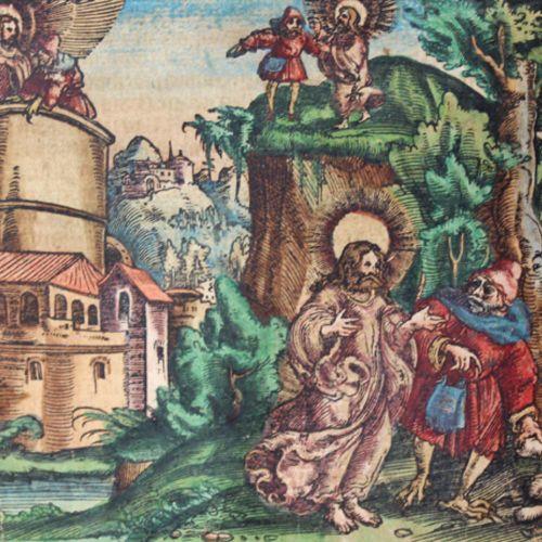 Luther,M. 这本书的第一部分是关于周日和最重要的节日的福音书。1卷中的3部分。Wittenberg, Hans Lufft 1563. Cl.Fol.标…