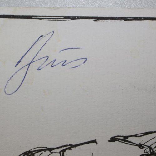 Brus,G. 大海,无岸。(目录),Curtze画廊维也纳2001年。有8个完整的彩色版本。在4个对开的彩色图画纸上的插图。 有亲笔签名。艺术家献给库尔特 魏…