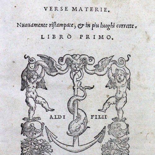 Manutius,P. (Hrsg.). Lettere volgari di diversi nobilissimi huomini, et eccellen…