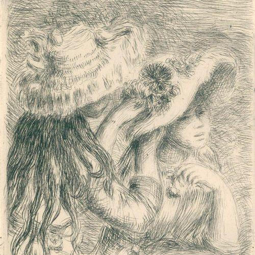 Riviere,G. Renoir et ses amis. Paris, Floury 1921. 4°. Avec 1 gravure à la point…