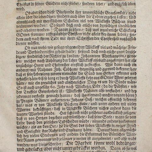 (Christliche Lutheraner, Der. Stellet vor die Kirchen Historien vom Jahr 1370 un…