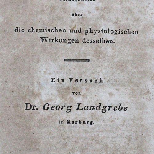 Landgrebe,G. Sur la lumière, de préférence sur ses effets chimiques et physiolog…