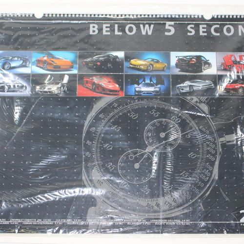 Sammlung de 8 calendriers. Jwls. Reliure spirale gr.Fol. Contient : ╗ Mercedes B…