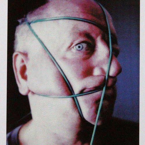 Blume,A. U. B. 6个顽固的事实。Hbg., Griffelkunst 1997.Imp.Fol.6 fol.彩色offsets after Pol…