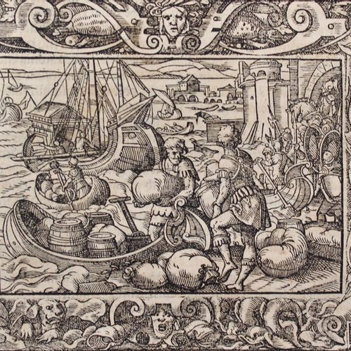 Livius,T. Von Ankunfft und Ursprung des Römischen Reichs....斯特拉斯堡,Rihel 1590.结尾处…