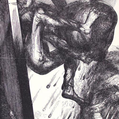 Faber,E. (Hrsg.). 比他的岩石更坚固。关于西西弗斯的文本。Lpz, Sisyphos Presse 1990. 对开。附有6幅原版画,作者是W.…
