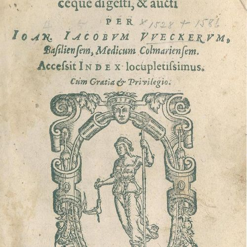 Wecker,J.J. De secretis libri XVII. Ex variis authoribus collecti, methodiceque …