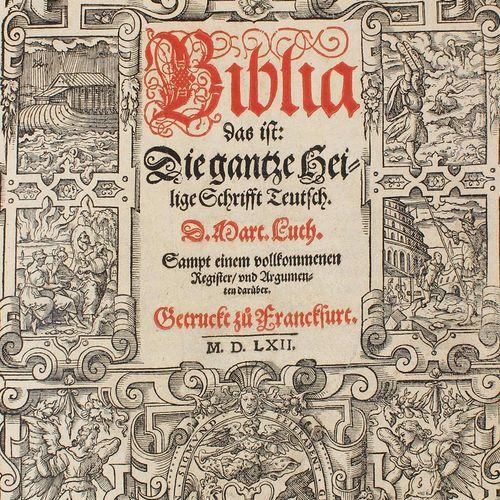 Biblia germanica. Biblia, c'est à dire : l'ensemble des Saintes Écritures en all…