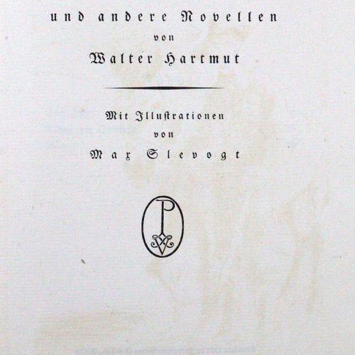 Hartmut,W. Alice et autres romans. Bln., Propyläen (1922). Gr.8°. Avec 1 signe. …