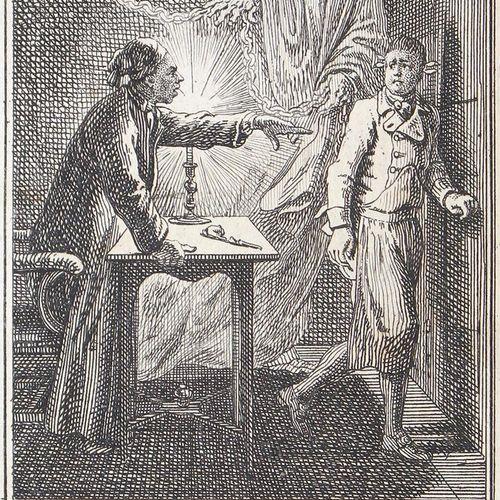 Bauer,J.H. 丹尼尔 尼古拉斯 乔多维茨基。格但斯克1726 1801柏林。印刷的作品。Wilhelm Burggraf zu Dohna Schlob…