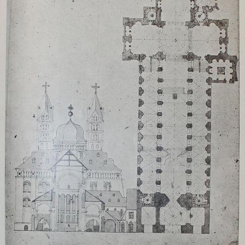 Martin,K. 彼得 安东 冯 弗沙费尔特关于建造斯佩耶大教堂的建议。(SA from Kaiserdom und Liebfrauenmünster zu…