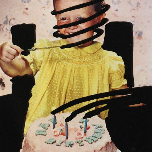 Schleime,C. 嘴巴张开 眼睛闭上。1995年法兰克福艺术展目录特别版,由Cornelia Schleime作为leporello的6张照片套印。Ams…