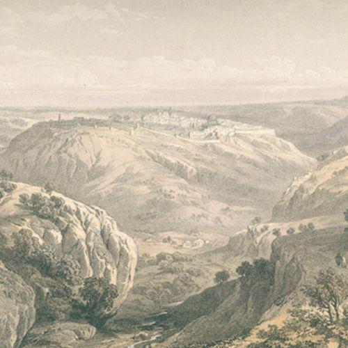 Roberts,D. La Terre Sainte. D'après des lithographies de L. Haghe. Avec des desc…